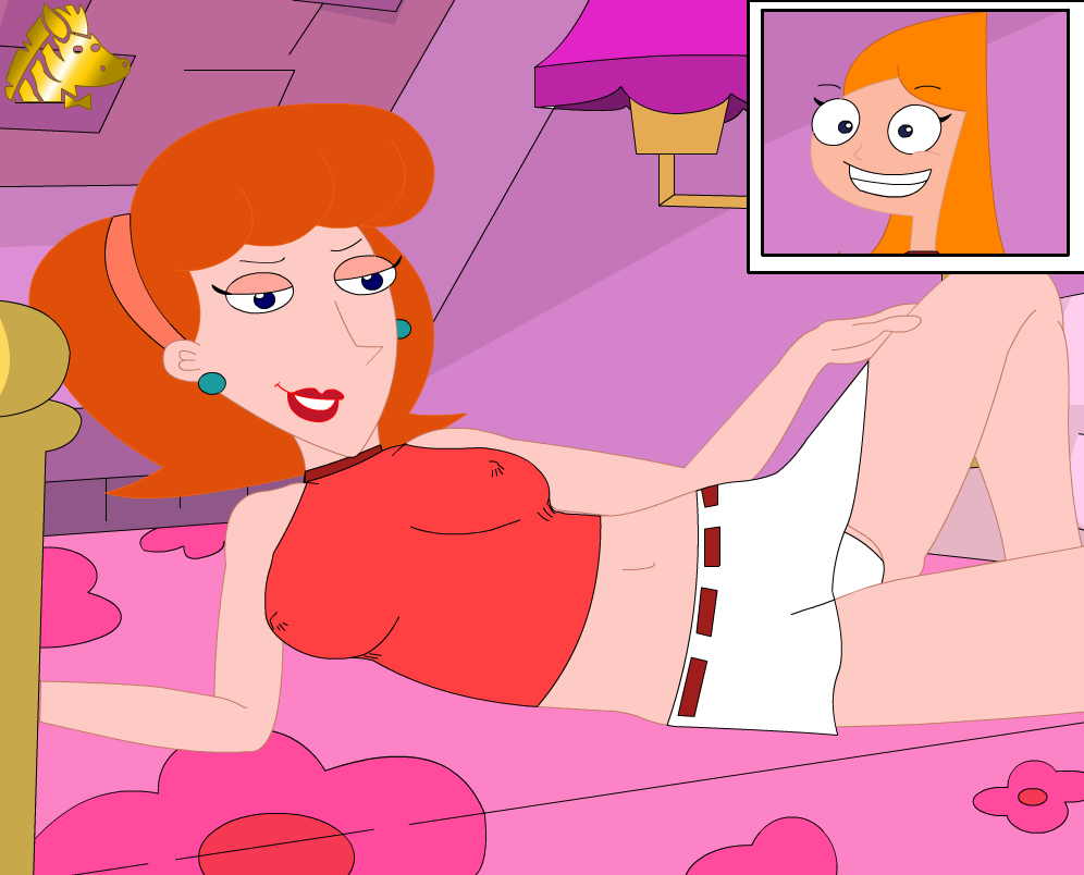 from and phineas naked candace ferb Nightwing and batgirl fanfiction pregnant