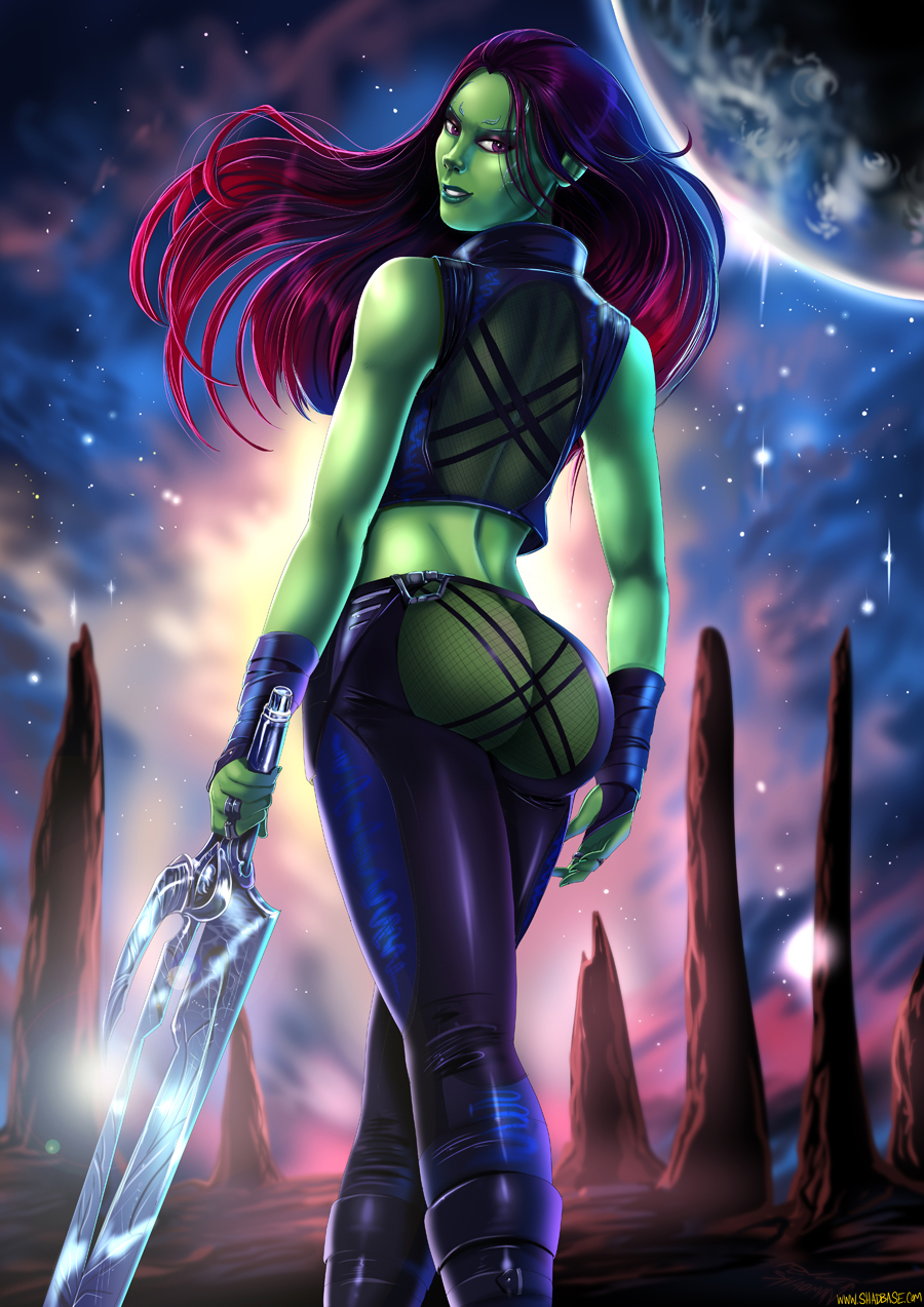 hentai gamora of the guardians galaxy How to draw panty and stocking with garterbelt style