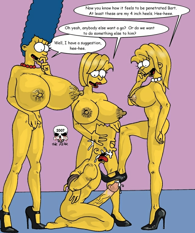 simpson marge bart with naked How is pearl mr krab's daughter