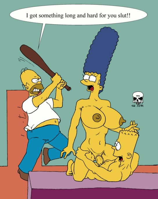 with simpson marge bart naked Orange is the new black xxx