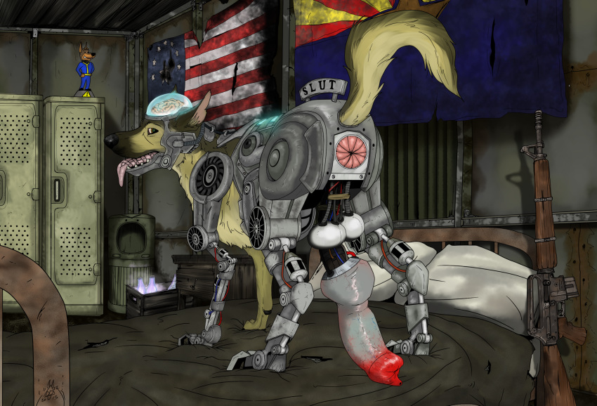 how in new get vegas fallout rex to Adventure time hot dog princess