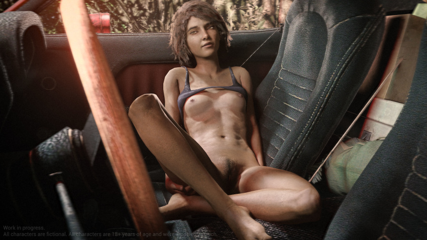 naked walking the dead clementine Ralsei drives a mercedes benz