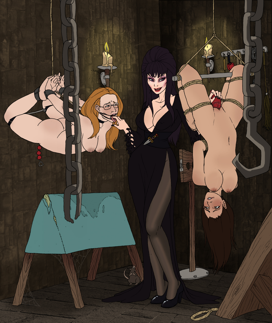 the tits dark elvira mistress of 5 nights at freddy's toy chica