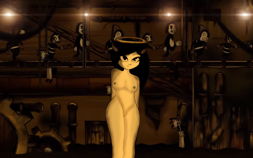 the and bendy angel ink machine alice Fiona from adventure time naked